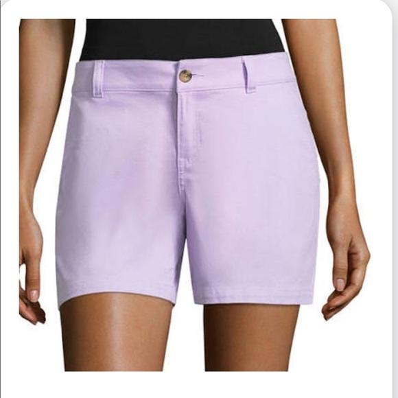 a.n.a Pants - Ana lavender purple shorts